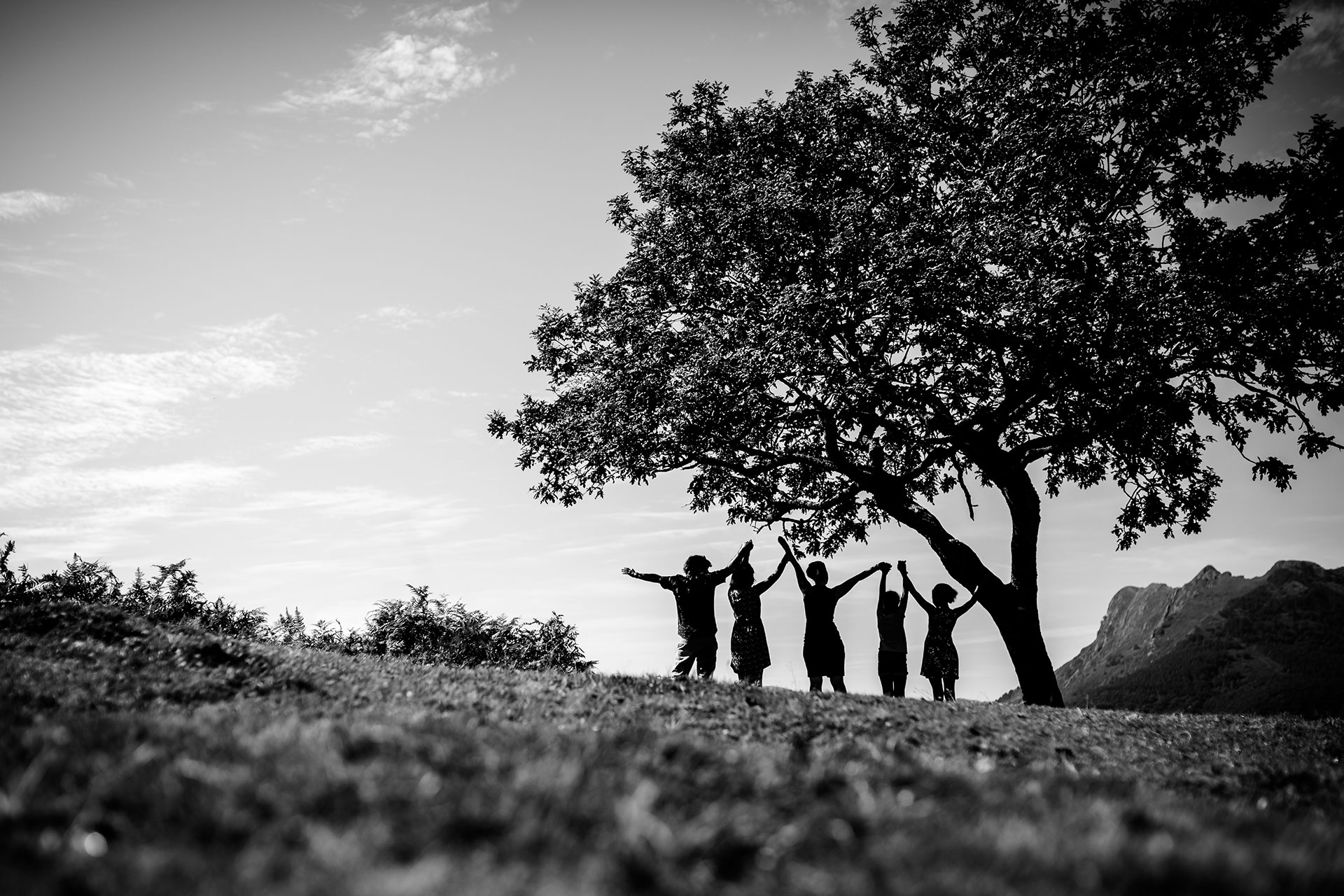 reportaje de familia en irun fotografa gipuzkoa