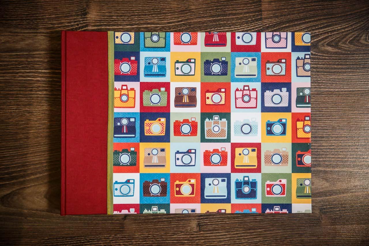soportes fotográficos artesanales álbum hecho a mano
