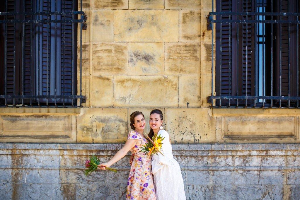 Reportaje de boda en la Torre Fagoaga | Irune&Miren